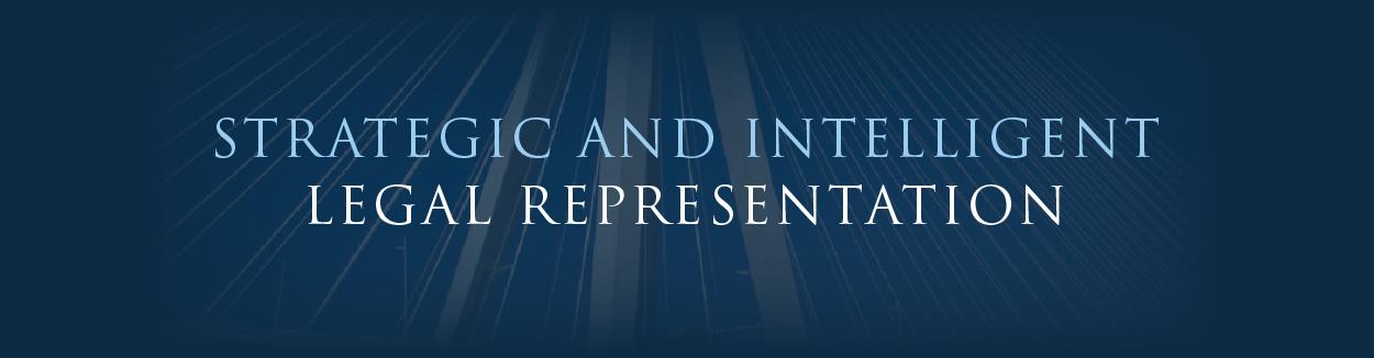 Strategic and Intelligent Legal Representation